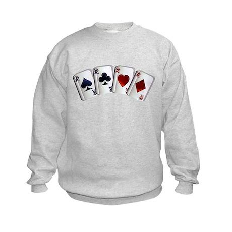 Four Aces Kids Sweatshirt