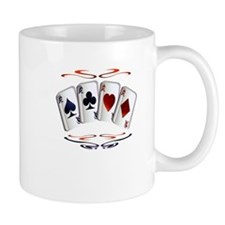 Aces with design Mug