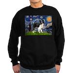 Starry / Border Collie (Z) Sweatshirt (dark)