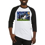 Starry / Border Collie (Z) Baseball Jersey