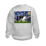 Starry / Border Collie (Z) Kids Sweatshirt