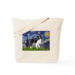Starry / Border Collie (Z) Tote Bag