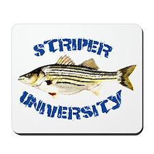 Striper University Mousepad