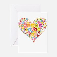 Jesus Loves You Greeting Cards (Pk of 20)