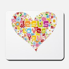 Jesus Loves You Mousepad