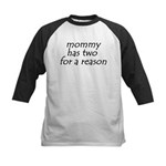 Tandem Nursing Shirts Kids Baseball Jersey