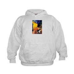 Cafe / Border Collie (Z) Hoodie