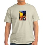 Cafe / Border Collie (Z) Light T-Shirt