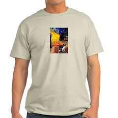 Cafe / Border Collie (Z) T-Shirt