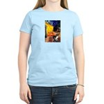 Cafe / Border Collie (Z) Women's Light T-Shirt