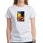 Cafe / Border Collie (Z) Women's T-Shirt
