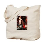 Accolade/Border Collie (Z) Tote Bag