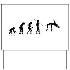 High Jump Evolution Yard Sign