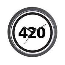 Never Miss 420 - Wall Clock