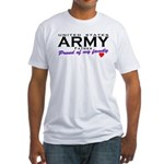 US Army Father Fitted T-Shirt