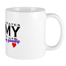 US Army Father-In-Law Mug