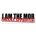 I Am The Mob Bumper Sticker (10 pk)