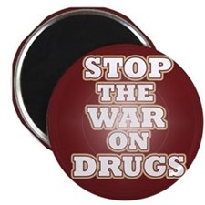 Stop the War on Drugs Magnet