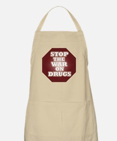 Stop the War on Drugs BBQ Apron