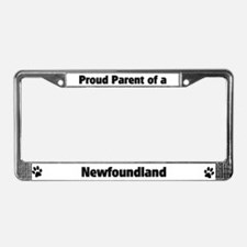Proud: Newfoundland  License Plate Frame
