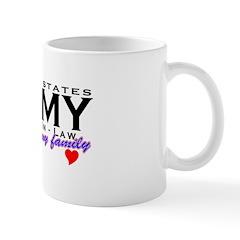 US Army Sister-In-Law Mug