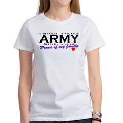 US Army Sister-In-Law Tee