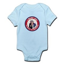 to Protect the Constitution Infant Bodysuit