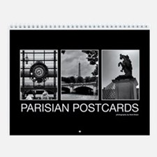 Parisian Postcards Wall Calendar