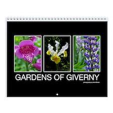 Gardens of Giverny Wall Calendar