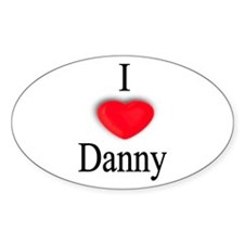 Danny Oval Decal
