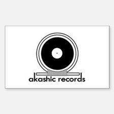 Akashic Records Rectangle Decal