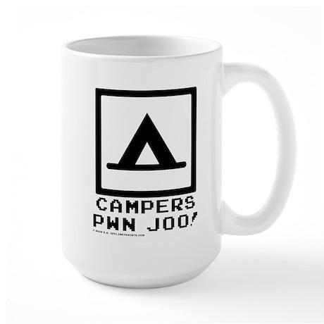 Campers pwn joo! Large Mug