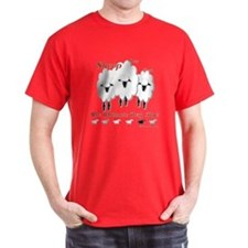 Sheep Dog Toy Black T-Shirt