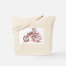 Motochick (canvas tote bag)
