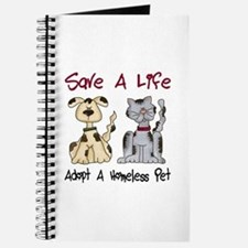 Adopt A Homeless Pet Journal
