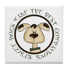 Rescue Dogs Tile Coaster