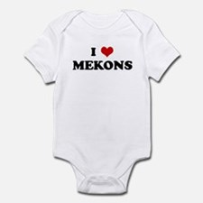 I Love MEKONS Onesie