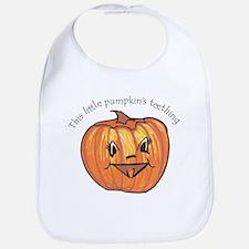 Teething pumpkin Bib