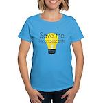 Save the Incandescents Women's Dark T-Shirt