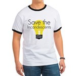 Save the Incandescents Ringer T