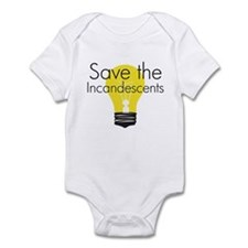 Save the Incandescents Infant Bodysuit