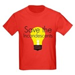 Save the Incandescents Kids Dark T-Shirt