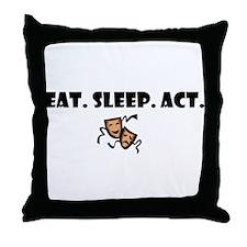 Unique Drama Throw Pillow