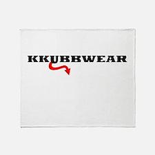 KWBLACKDEVIL Throw Blanket