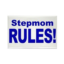Stepmom Rules! Rectangle Magnet (100 pack)