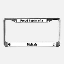 Proud: McNab License Plate Frame