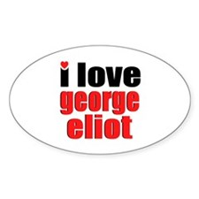 George Eliot Oval Decal