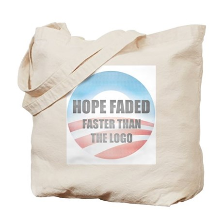Hope Faded Tote Bag