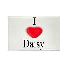 Daisy Rectangle Magnet