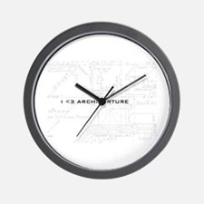Architorture Wall Clock
